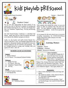 Free Newsletter Templates for Preschool Awesome 13 Printable Preschool Newsletter Templates Free Word Class Newsletter, Preschool Newsletter Templates, Parent Newsletter, Classroom Newsletter Template, Newsletter Ideas, Letter Writing Template, Cover Letter Template, Preschool Director, Kindergarten