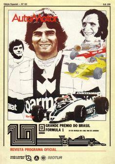 Brazilian Grand Prix 1982 programme