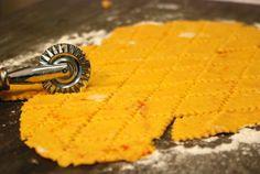 healthy crackers - flour, sweet potatoes,cheese