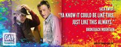 """Ya know it could be like this, just like this always.""  http://gay-themed-films.com/film-quotes/ #MovieQuotes #LGBT"