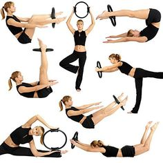 Made from high quality fiberglass, our MUSCLE TRAINER Ring Circle is resistant to corrosion due to perspiration and is totally indestructible. Pilates Ring Exercises, Pilates Workout Routine, Pilates Body, Gym Workout Videos, Pilates Reformer, Pilates Studio, Cardio, Thigh Challenge, Yoga Challenge