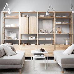 40 IKEA Furniture Ideas for Living Room Decor - Decoupage Ikea Inspiration, Ikea Decor, Decor Room, Home Decor, Nursery Decor, Ikea Furniture, Living Furniture, Furniture Ideas, System Furniture