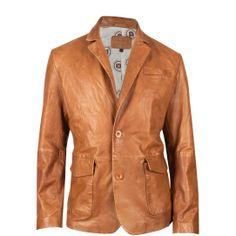 Get the Durango® Leather Company Men's Sundance Kid Blazer. Wear this men's leather jacket in warm camel brown. Mens Dress Blazers, Blazers For Men, Mens Leather Coats, Men's Leather Jacket, Leather Jackets, Jacket Men, Mens Fur, Soft Leather, Brown Leather