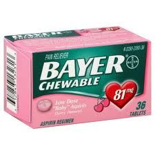 Walgreen's: Bayer Low Dose Aspirin only $.17 each! HOT ****