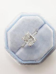 Radiant Cut Engagement Rings, Emerald Cut Engagement, Engagement Ring Shapes, Beautiful Engagement Rings, Radiant Cut Diamond, Diamond Cuts, Diamond Shapes, 1 Carat Diamond Ring, Dream Ring