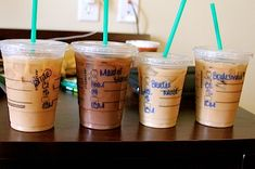 Wedding morning Starbucks! Get everyone's order in advance and have them ready for hair and makeup. This will be a must do.