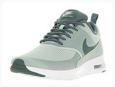 Nike Women's Air Max Thea TxT Light Silver/Hasta/White Running Shoe 9.5 Women US (*Partner Link)