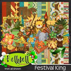 Festival King by Kellybell Designs