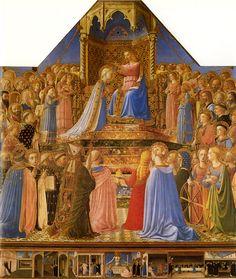 Fra Angelico Couronnement de la Vierge