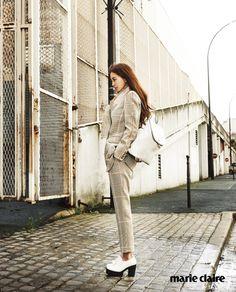'Marie Claire Korea' March 2015   한예슬 Han Ye Seul   Décke, 곽현주 Kwak Hyun Joo Collection