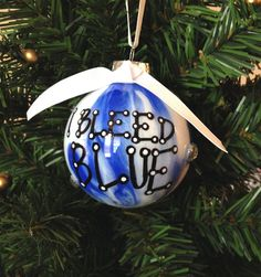 Kentucky Ornament by TheSouthernTurtle on Etsy, $8.50