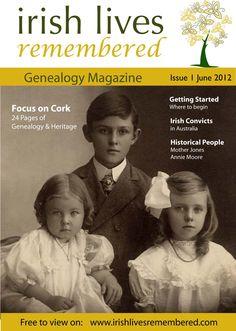 Irish Lives Remembered Genealogy Magazine - FREE to view