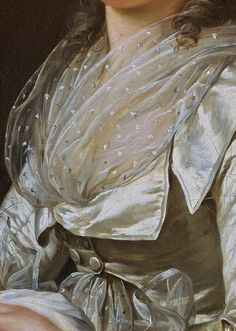 Portrait of a woman by Adélaïde Labille-Guiard - Detail Renaissance Kunst, Renaissance Paintings, Art Ancien, 18th Century Fashion, Victorian Art, Classical Art, Detail Art, Aesthetic Art, Oeuvre D'art