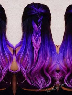 Beautiful hair color...