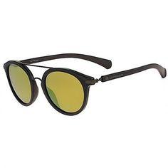 Óculos de Sol Calvin Klein Jeans Round Preto com Lente Amarela Espelhada -  CKJ774S001. Mauro rodolfo · oculos masculinos ede00e3465