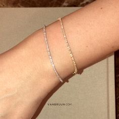 Tennis bracelets it is an incredibly exclusive and classic piece of jewelry. With diamonds mounted along the entire shank, it is a piece of jewelry that really got that wow-factor.