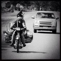 """#streetphotography #blackandwhite #bw #photooftheday #picoftheday #southeastasia #laos #travel #travelphotography - taken somewhere on the road on Laos (2012)"" Photo taken by @actuallymt on Instagram, pinned via the InstaPin iOS App! http://www.instapinapp.com (10/01/2014)"