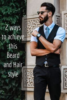 Style your hair and beard with our sophisticated natural products.