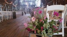 Ceremony Happily Ever After, Barn, Table Decorations, Home Decor, Converted Barn, Decoration Home, Room Decor, Home Interior Design, Barns
