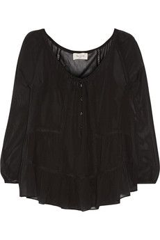 Paul & Joe Borabor silk-chiffon blouse | NET-A-PORTER
