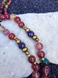 SUGA SUGA Mala Bead Necklace Hand Knotted Mala Beads 108 by FTSoul