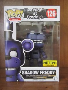 Funko Pop Books 21 FNAF Stanley Hot Topic Exclusive Cinq Nuits Freddy