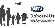 "Logo for a ""student video contest on societal implications of robotics."""