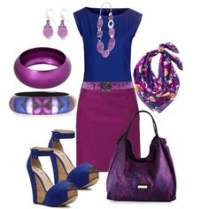 """""""Smoke on the Water"""" by lasndrs on Polyvore #IceCarats http://www.icecarats.com/Sterling-Silver-AmethystLavender-Agate-Antiqued-Dangle-Earrings-283130.aspx"""