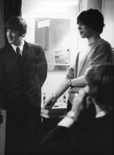 vintage everyday: The Two Kings of the British Invasion – Rare and Interesting Photos of John Lennon and Mick Jagger That Show Just How Close Their Friendship Was