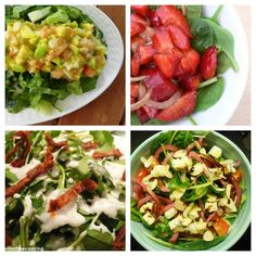 Ensaladas Románticas - @KarmaFree Cooking