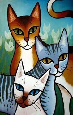 valentine cats - Google Search #CatDibujo