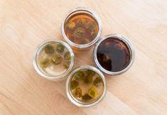 4種類の砂糖で作る梅シロップ