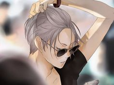 that's Lev Haiba from Haikyuu lookin fine af