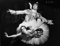 Karen Kain and Rudolf Nureyev in The Sleeping Beauty. Wish I could have seen this performance I'm sure it was beyond brilliant!