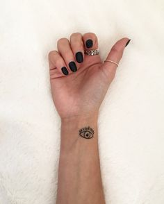 evil eye tattoo my design love it