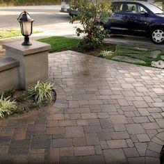 We used Belgard Pavers Dublin Cobble (Bella color) 4 Piece Combo. Huntington Beach, CA (Tynan Residence) - Yelp