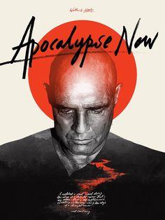 Apocalypse Now - ''Kurtz's Nightmare'' -  Grzegorz Domaradzki ---- http://www.bottleneckgallery.com/collections/where-is-my-mind