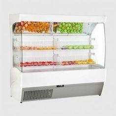 Frilixa 1000mm Wide Multideck for Fruit and Veg: Marao II 100
