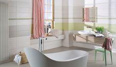 Badkamer 10 Bathtub, Curtains, Shower, Bathroom, Design, Czech Republic, Ua, Porto, Wicker