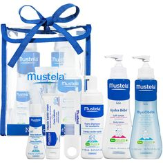 Mustela Newborn Set ($45) ❤ liked on Polyvore featuring baby
