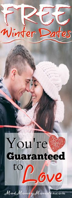 Winter Dates | Winter Dating | Frugal Dates | Frugal Winter Dates | Frugal Dating | Free Dates | Free Winter Dates | Free Winter Date Ideas via @MadMoneyMonster