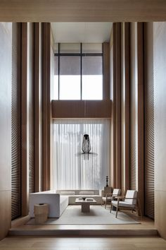 Photos and Videos 19 of 32 from project Jinan Bocuishan Sales Center Hotel Lobby, Lobby Lounge, Lobby Bar, Lounge Chairs, Lobby Interior, Interior Architecture, Interior And Exterior, Interior Design, Hotel Room Design