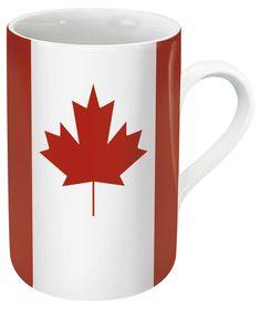 Canada Mugs, Set of 2