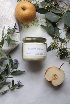Cedarwood & Vanilla Natural Soy Candle