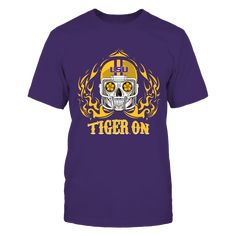 LSU Tigers - Game On T-Shirt, Special Offer, not available in shops! Comes in a variety of styles and colors Buy yours now before it is too late! Secured payment via Visa / Mastercard / Amex  The LSU Tigers Collection, OFFICIAL MERCHANDISE  Available Products:          District Men's Premium T-Shirt - $27.95 District Women's Premium T-Shirt - $29.95 Gildan Unisex T-Shirt - $25.95 Gildan Women's T-Shirt - $27.95 Gildan Unisex Pullover Hoodie - $49.95 Next Level Women's Premium Racerback Tank…