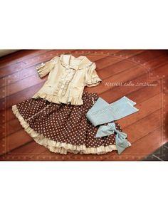 841caae6c5eaa HMHM Short Sleeves Frilled Sailor Collar Shirt $51.99-Girls Cotton Shirts -  My Lolita Dress