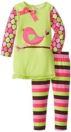 Rare Editions Little Girls Bird Applique Legging Set, Lime/Multi, 2T Rare Editions http://www.amazon.com/dp/B00JR6G1II/ref=cm_sw_r_pi_dp_y3-6tb1QVG8G9
