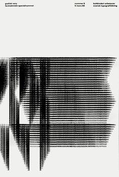 """calmack: """" Helmut Schmid — Grafisk Revy (1965) """""""