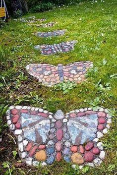 Farfalle di sassi
