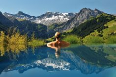 24 Amazing Pools You Need To Jump In Before You Die  The Camrian Hotel, Switzerland